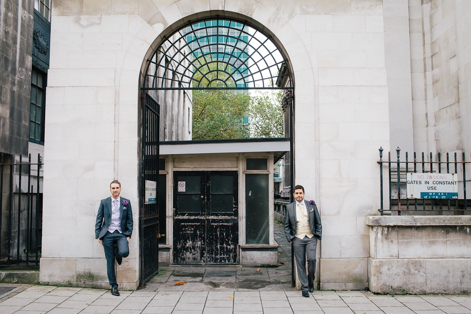 Jordan & Luis – a civil partnership