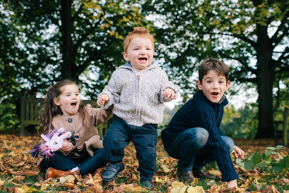 Family photography shoot, Kenwood House