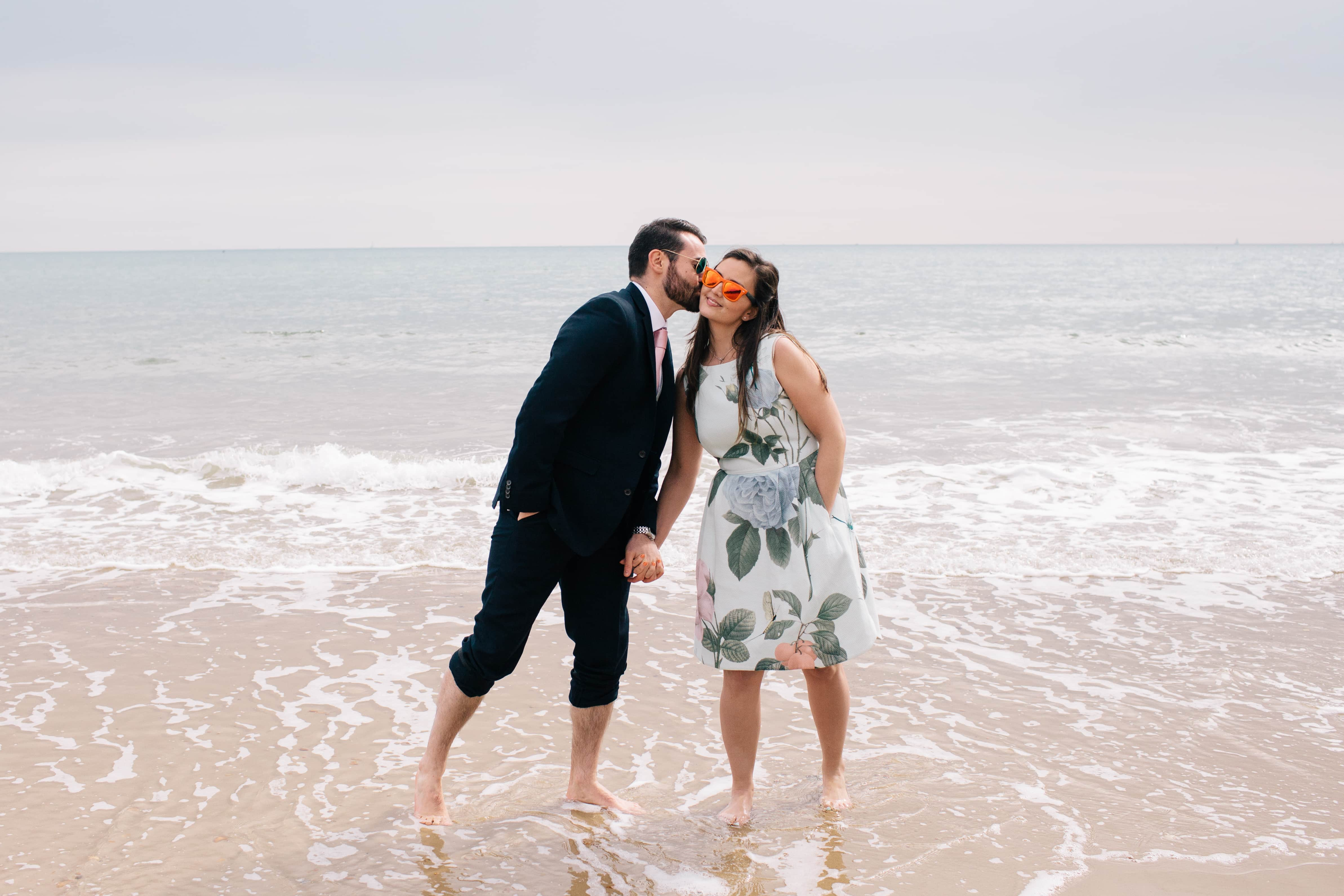 Victoria + Jamie: Bournemouth pre-wedding fun
