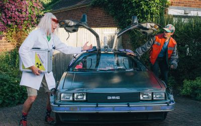 Back To The 80's themed 50th birthday party, Buckinghamshire