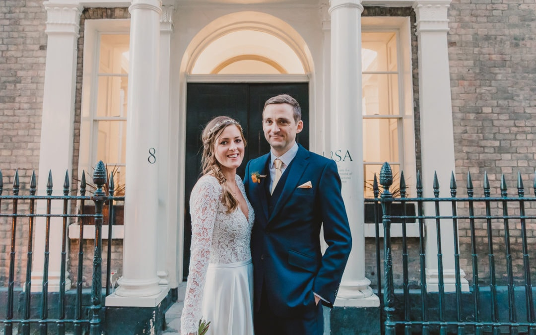 An elegant London wedding, Royal Society of Arts