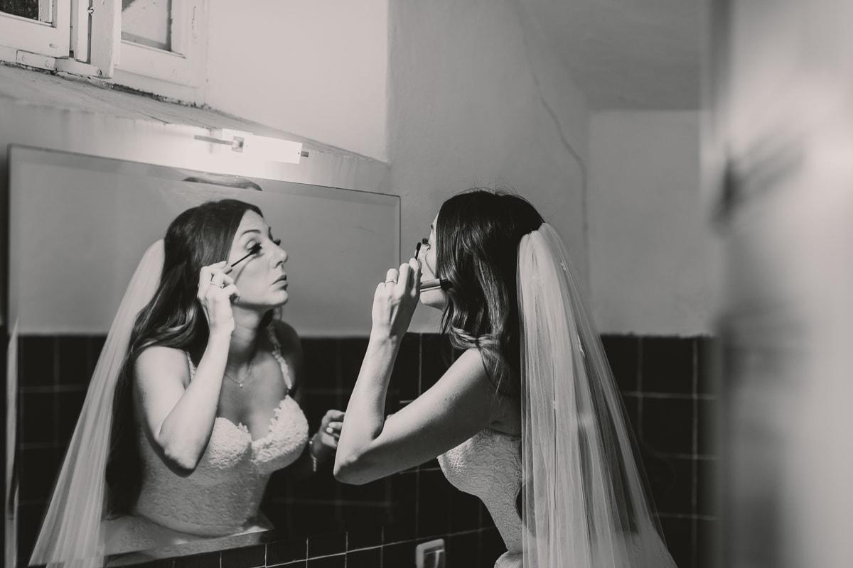 Tuscany wedding, bride