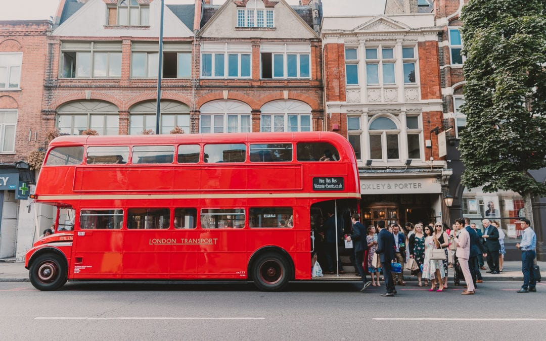 An urban London wedding, Clapton Country Club